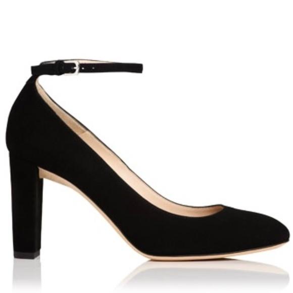 LK Bennett Shoes | Lk Bennett Black Suede Sybila Pumps